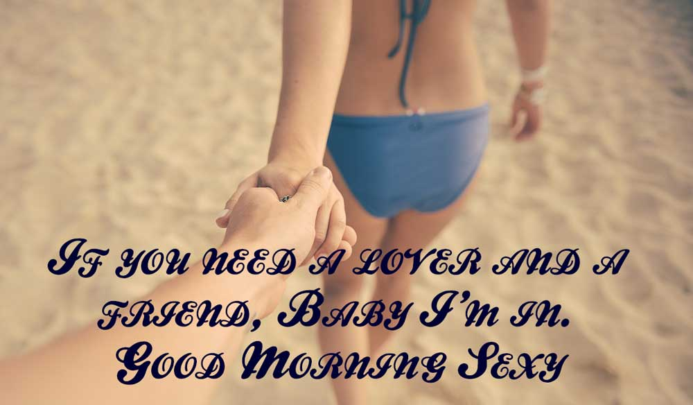 Good morning sexy image quotes
