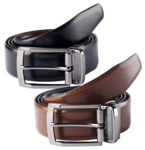 Leather-Belt-Set