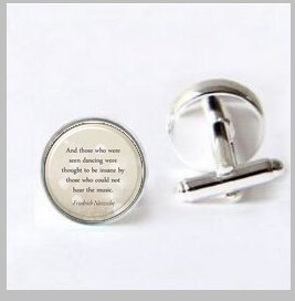Personalized Love Song Cufflinks