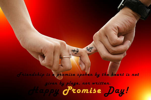 happy promise day image