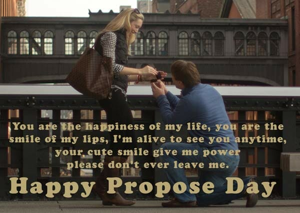 propose pic