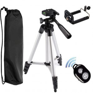 Tripod with Shutter Remote for iphone