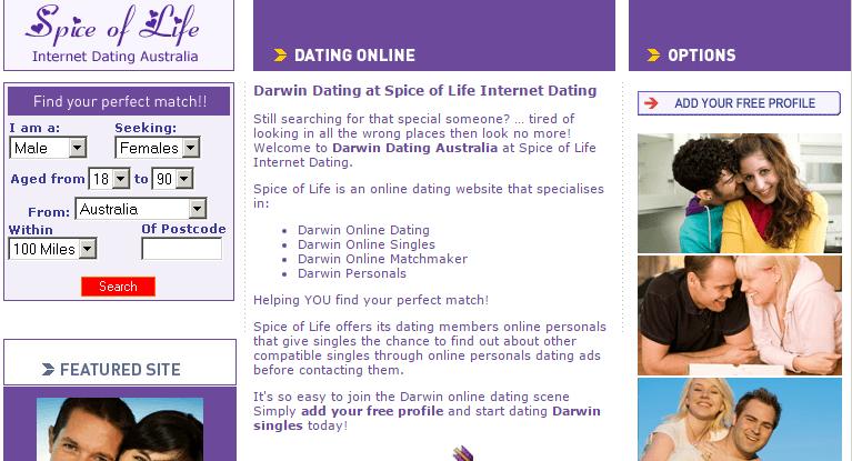 Darwin dating delete account