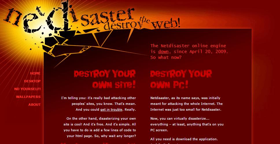 NetDisaster