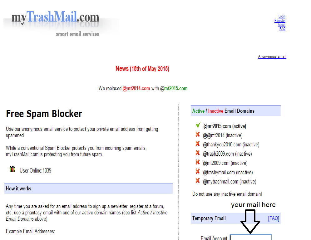 fake email accounts to use