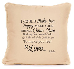 lyrics-cushion-cover