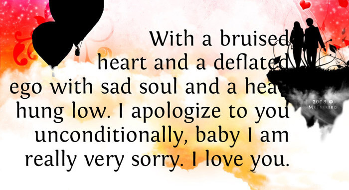 I M Sorry I Love You Quotes
