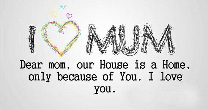 I love You Mom Image