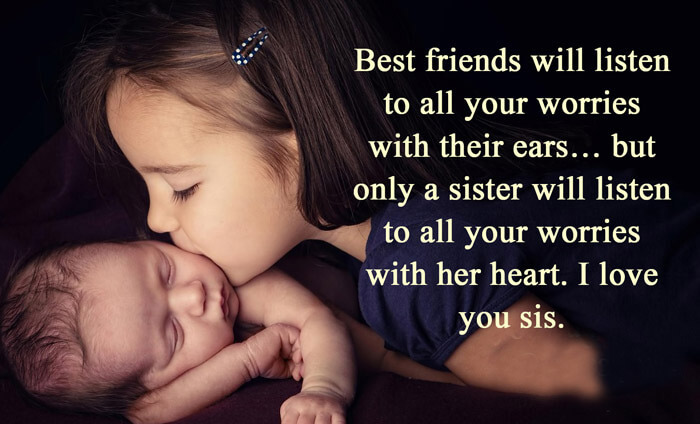 Love You Sister Quotes Cool 100 I Love You Quotes With Images To Express Your Love  2018 Update