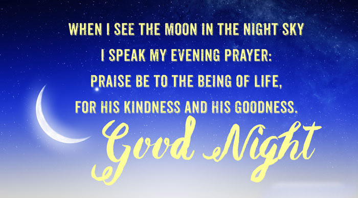 Good Night Quotes, Wishes and Messages for Friends & Lovers ...