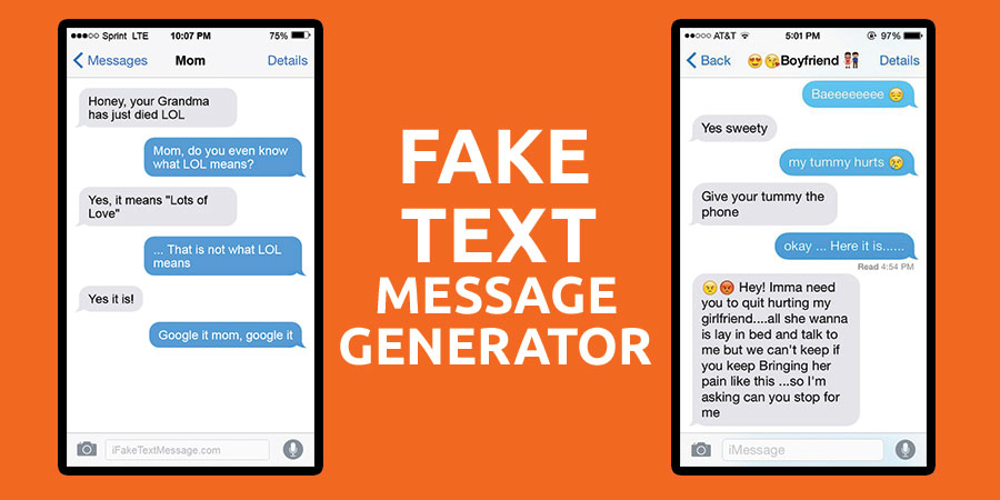 Best Fake Text Message Generator Online Tools for Android, iPhone