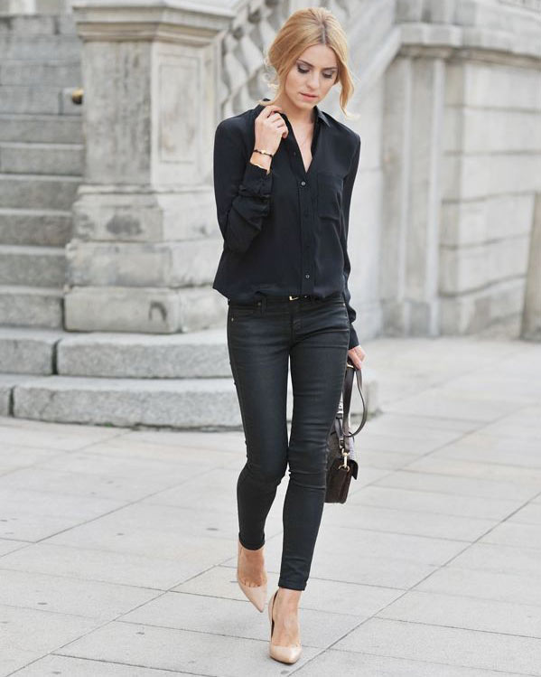 What To Wear With Black Jeans (Best Combination For You)