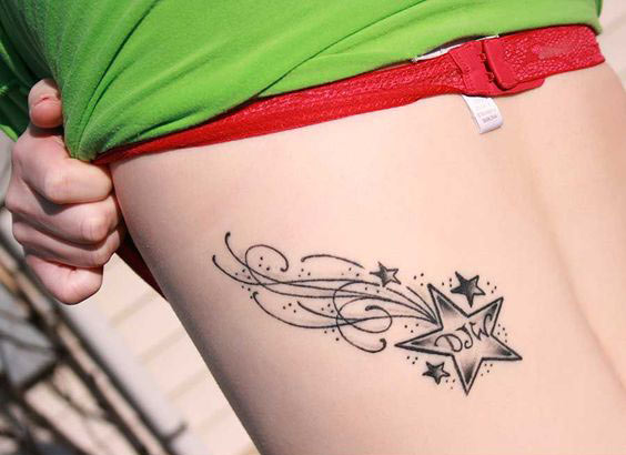 Star Tattoo Meaning,Types & Right Placement (Pictures)