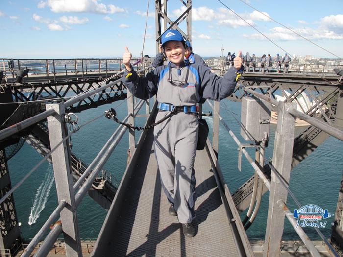 Bridge Climbing