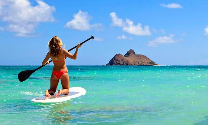 Renting Paddleboard