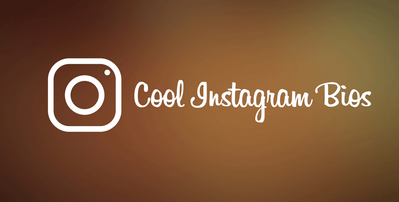 140 Cool Instagram Bios Ideas for Boys & Girls [2018 Update]