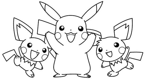 Pikachu Together