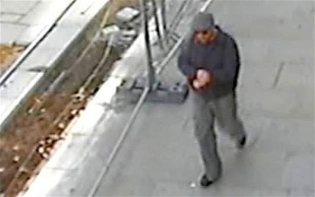Robber Hands Over His Gun