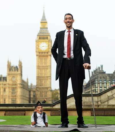 Top 10 Tallest People in the World 2017 (Men & Women)