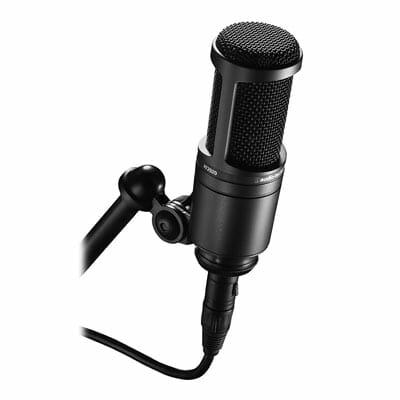 Audio Technica AT2020 Studio Microphone