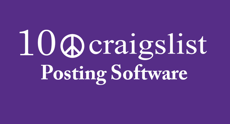 Best Craigslist Posting Software