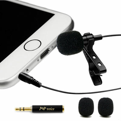 PoP Voice Lavalier Microphone