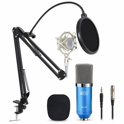 Tonor Pro Condenser PC Microphone Kit
