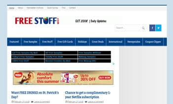 Websites that offer free samples