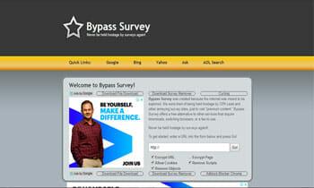 Survey Bypass