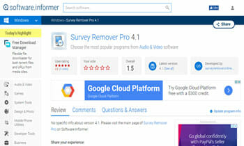 Survey Remover Pro4