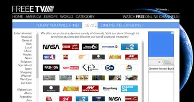 best place to watch live tv online free