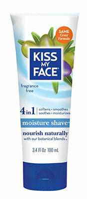 Kiss My Face Moisture Shave Shaving Cream
