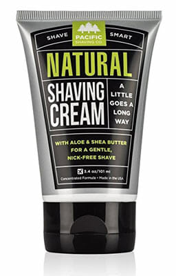 Pacific Shaving Company Natural Shaving Cream for Men and Women