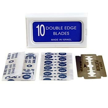 120 Crystal Super + Double Edge Safety Razor Blades