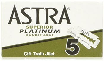 Astra Superior Platinum Double Edge Safety Razor Blades
