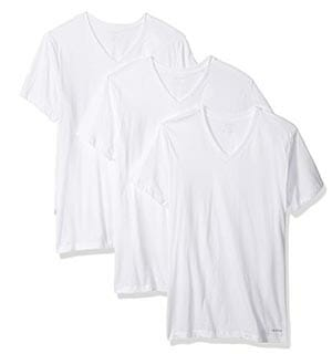 Calvin Klein 3-Pack V-Neck Undershirts for Men
