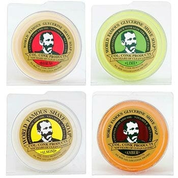 Col. Conk Shaving Soap, Variety Pack