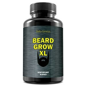 Delta Genesis Beard Grow XL Facial Hair Supplement