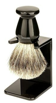Edwin Jagger Best Badger Shaving Brush with Stand
