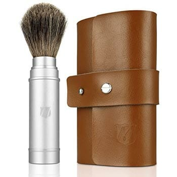 Miusco Badger Hair Shaving Brush Travel Kit