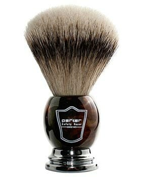 Parker Safety Razor 100% Silvertip Badger Brush