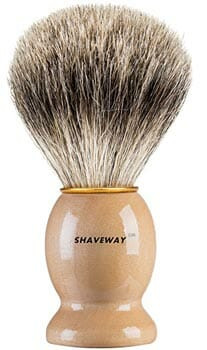 Shaveway Original Pure Badger Shaving Brush