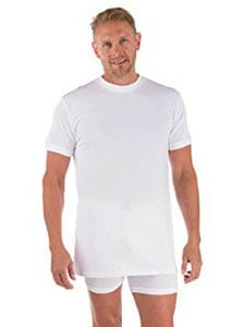 TexereSilk Crew Neck Undershirt for Men