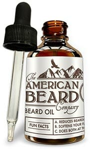 Beard Oil Growth Conditioner by The American Beard Company