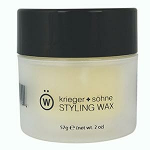 Krieger + Sohne Premium Styling Wax for Men