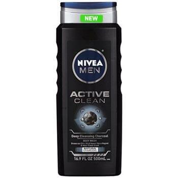 Nivea Men Active Clean Body Wash