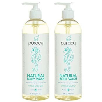 Puracy Natural Body Wash for Men and Women
