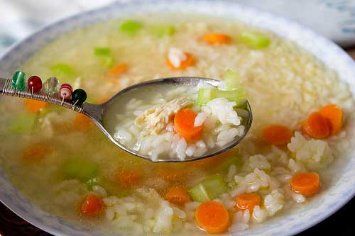 Soup with Rice