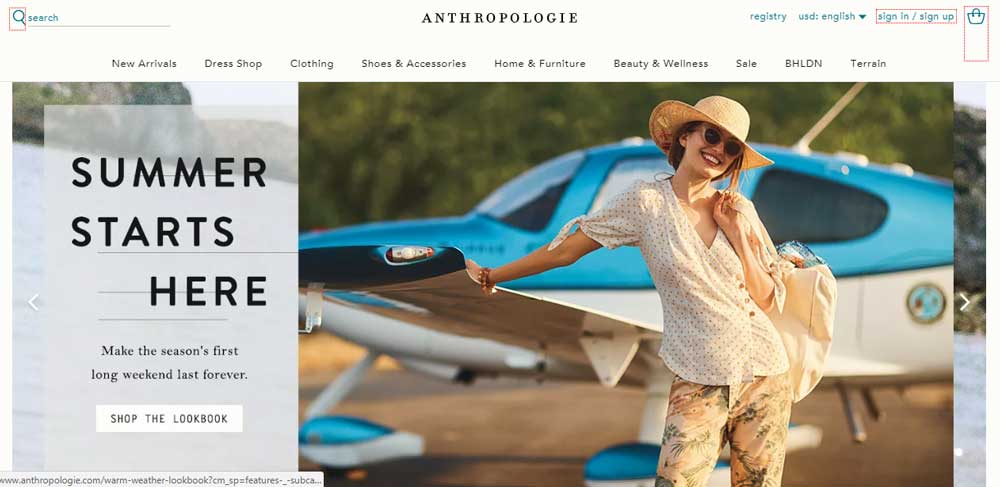 Stores Like Anthropologie