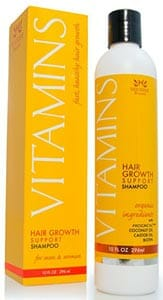 Vitamins Hair Growth Shampoo by Nourish Beaute